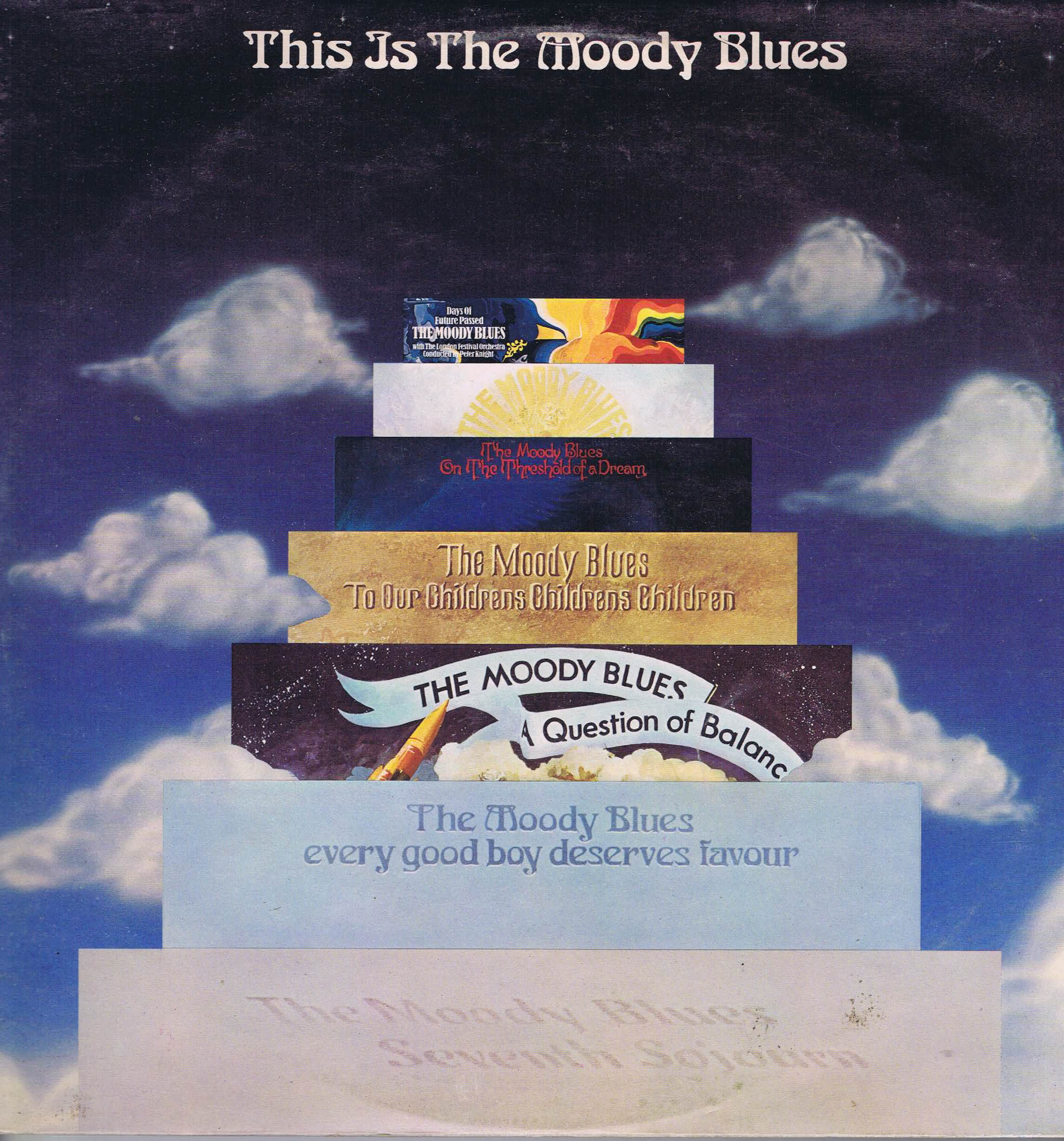 The Moody Blues This Is The Moody Blues Mb1 2 2 Lp