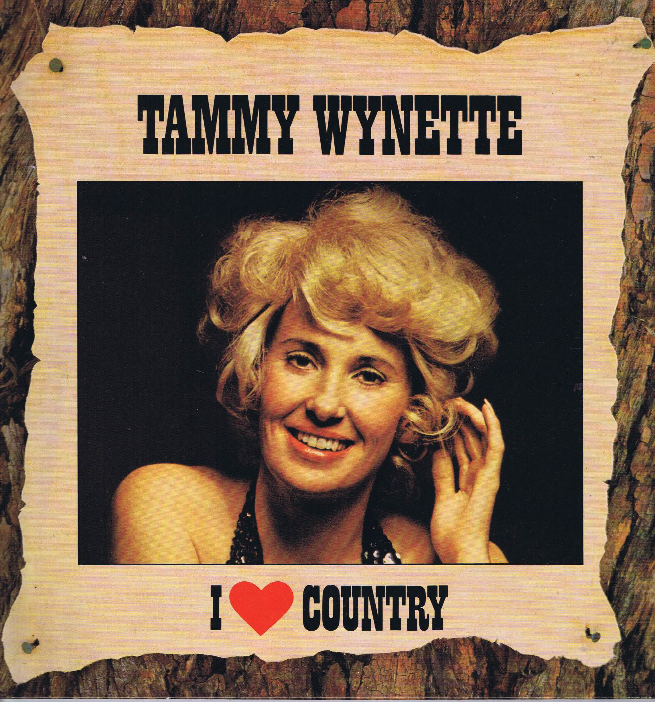 Tammy Wynette I Love Country 54943 Lp Vinyl Record