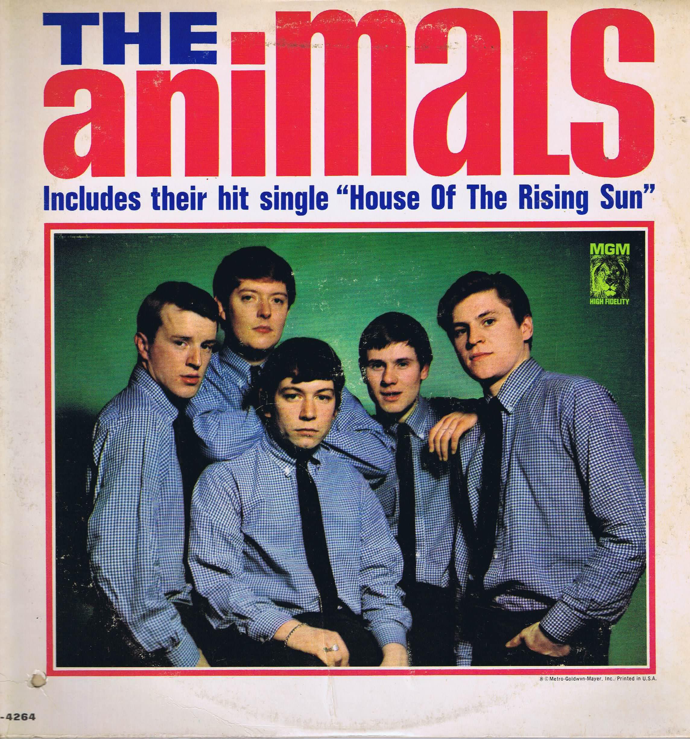 The Animals The Animals Mgm E 4264 Us Lp Vinyl
