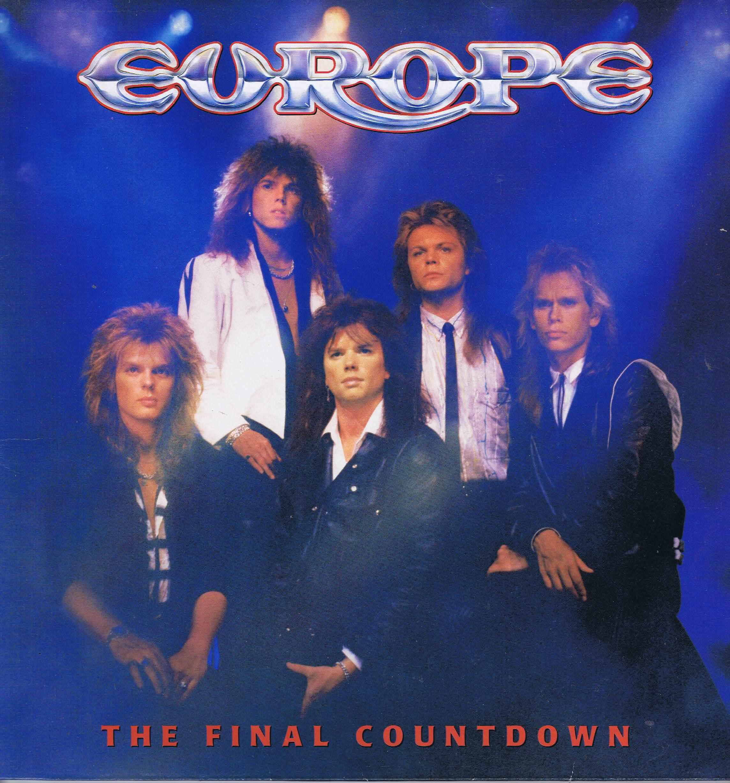 Europe The Final Countdown Epc 26808 Lp Vinyl Record