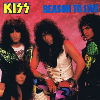 Kiss – Reason To Live - KISS 8012 - 12-inch Vinyl Record