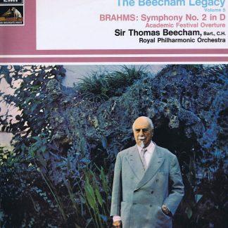 HQS 1143 - Brahms / Beecham - Beecham Legacy Volume 5 - LP Vinyl Record