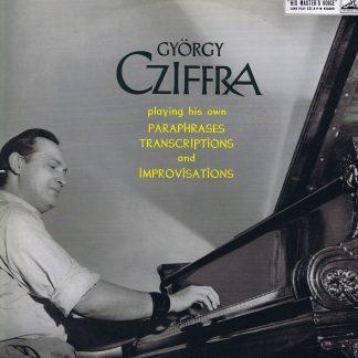 ALP 1604 - Gyorgy Cziffra – Transcriptions, Paraphrases & Improvisations - LP Vinyl Record
