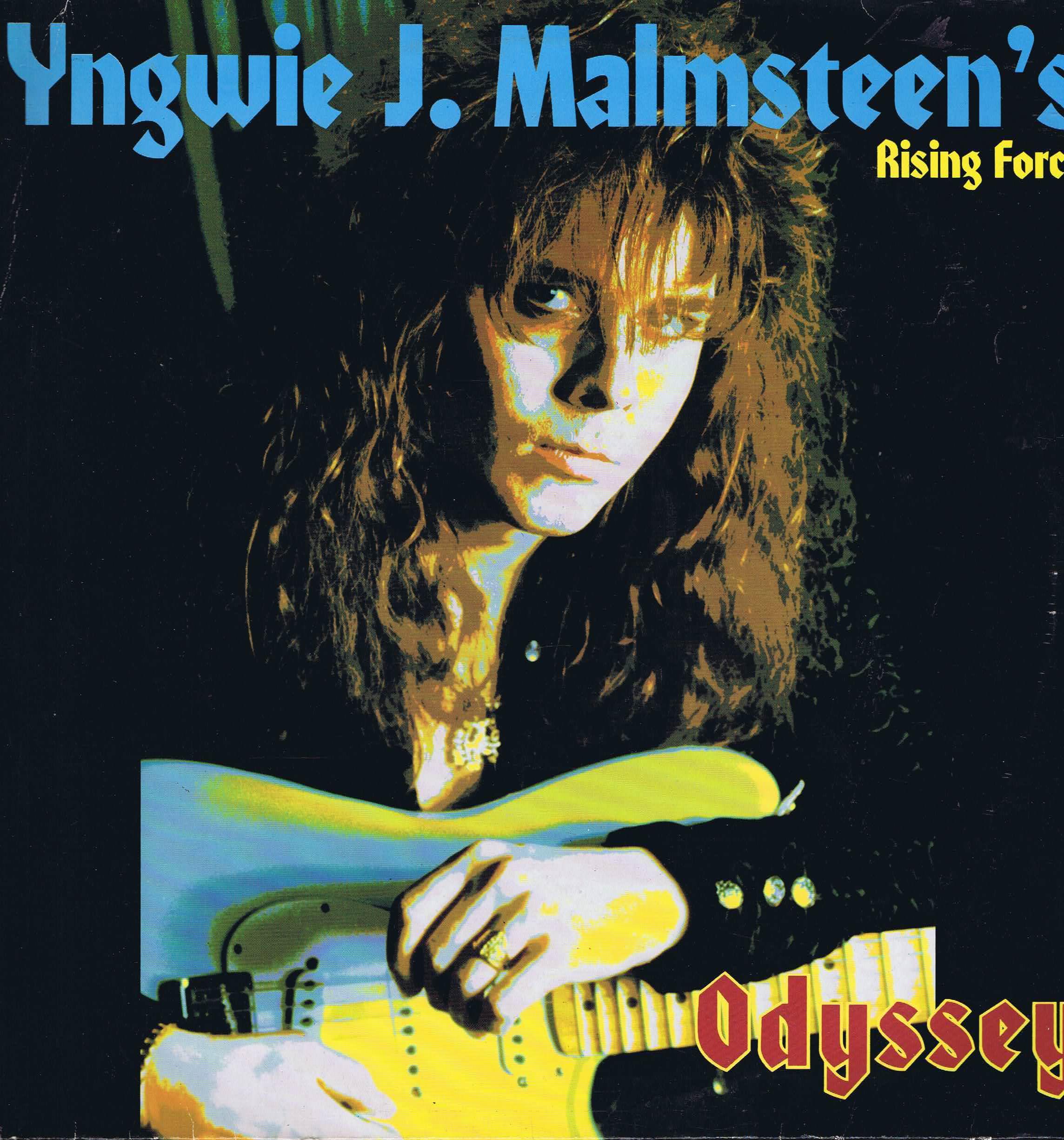 Yngwie J Malmsteen S Rising Force Odyssey Lp Record