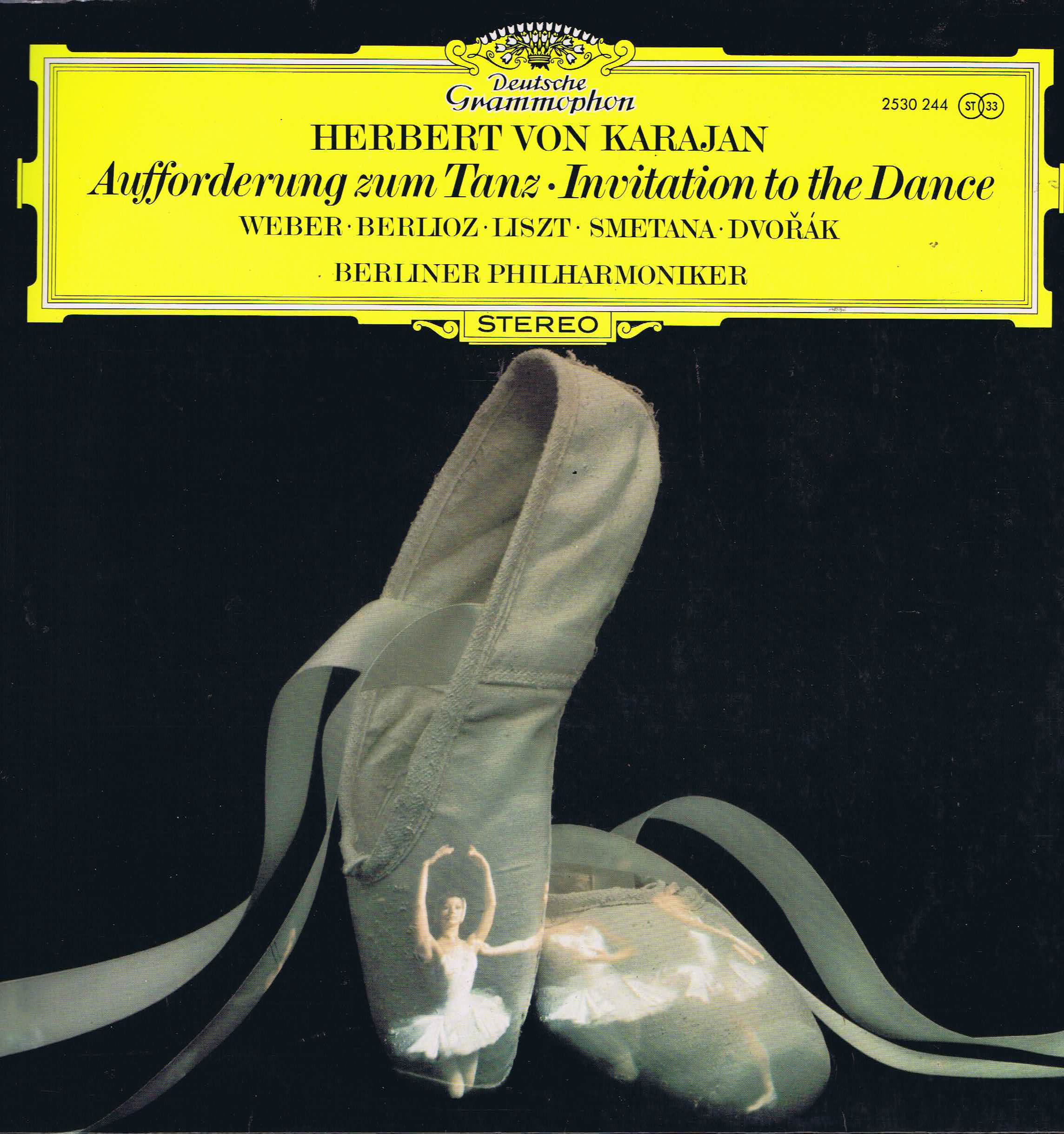 DGG 2530 244 Karajan Invitation To The Dance Weber Berlioz