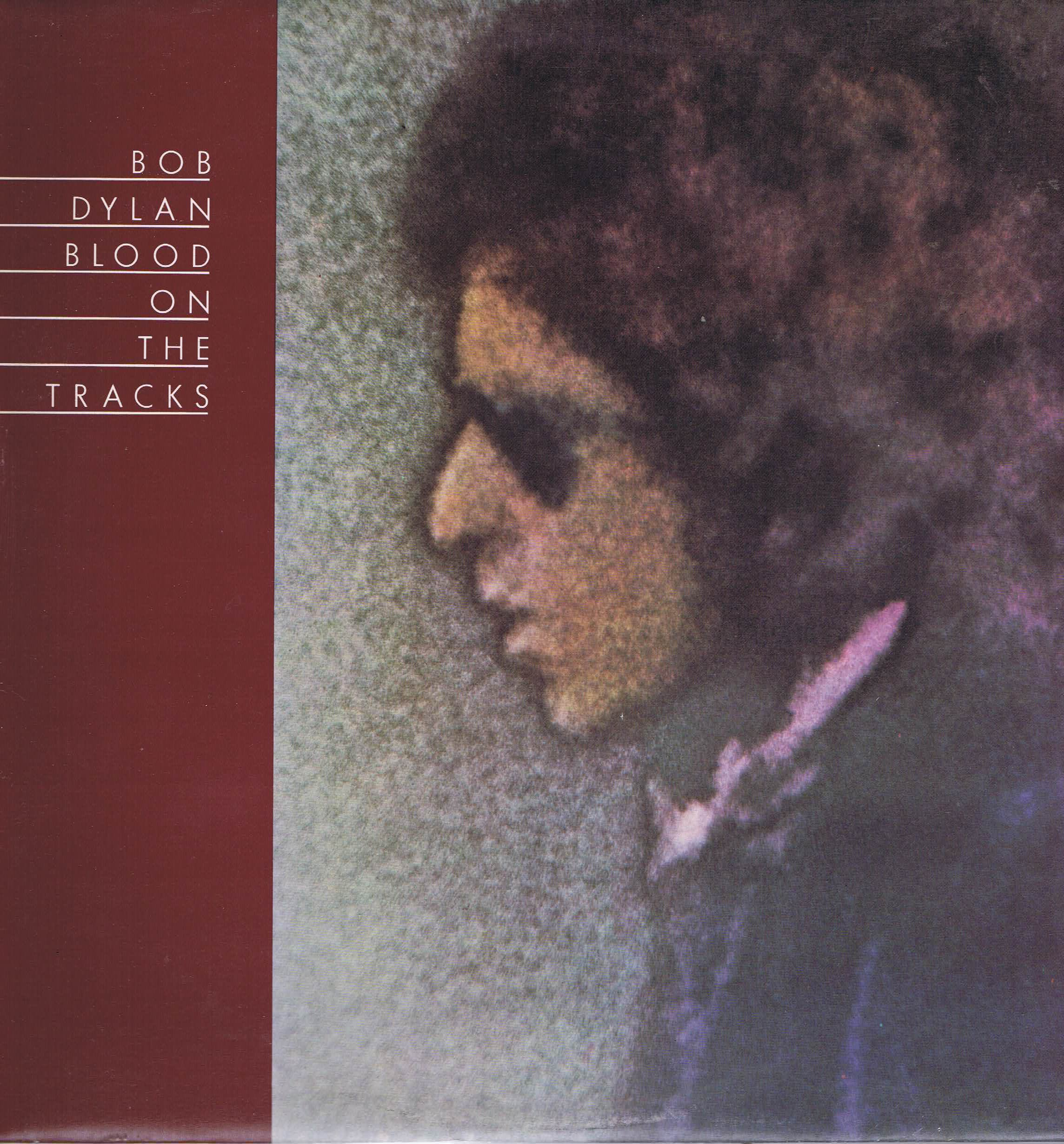 Bob Dylan Blood On The Tracks Cbs S 69097 Lp Vinyl