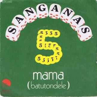 Sanganas Five – Mama (Batutondele) - 2 C010-23560 - 7-inch Record