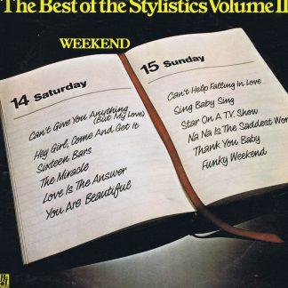 The Stylistics – The Best Of The Stylistics Volume II - 9109 010 - LP Vinyl Record