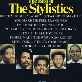 The Stylistics – The Best Of The Stylistics - 9109 003 - LP Vinyl Record