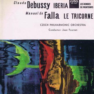 SUA 10614 - Debussy, Falla - Iberia, Les Rondes De Printemps, Le Tricorne - LP Vinyl Record