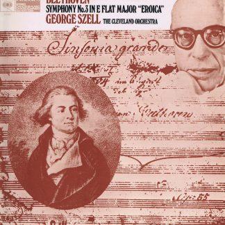 CBS 61151 - Beethoven - Symphony No. 3 - Szell - LP Vinyl Record