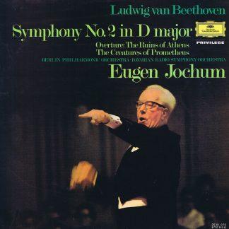 DG 2538 075 - Beethoven - Symphony No. 2 - Jochum - LP Vinyl Record