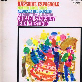 Victrola VICS 1619 - Ravel - Rapsodie Espagnole - Jean Martinon - LP Vinyl Record