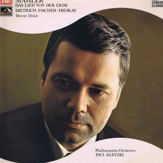 SXLP 30165 - Mahler - Das Lied von der Erde - Fischer-Dieskau - LP Vinyl Record