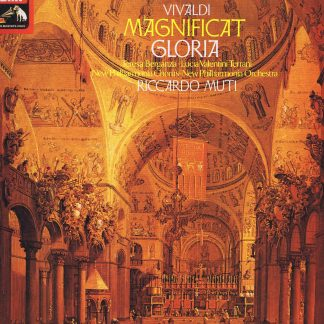 ASD 3418 - Vivaldi – Magnificat - Riccardo Muti - Quadraphonic LP Vinyl Record
