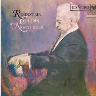 SB-6731 - Chopin / Rubinstein – The Nocturnes Vol. 1 - LP Vinyl Record