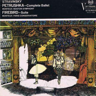 Victrola VICS 1296 - Stravinsky - Firebird Suite - Petrushka - LP Vinyl Record