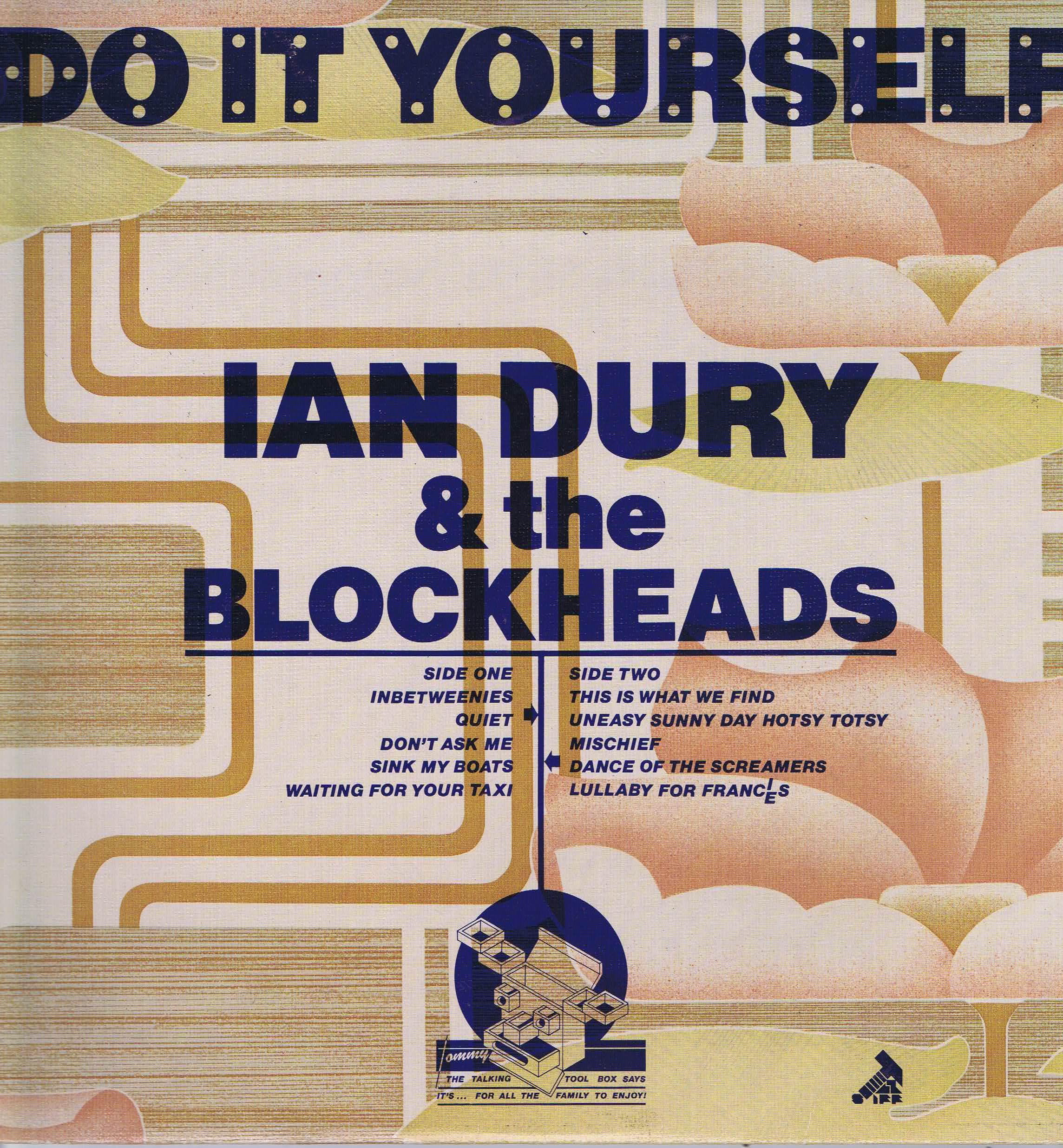 ian dury the blockheads do it yourself seez 14 lp vinyl record wax vinyl records. Black Bedroom Furniture Sets. Home Design Ideas