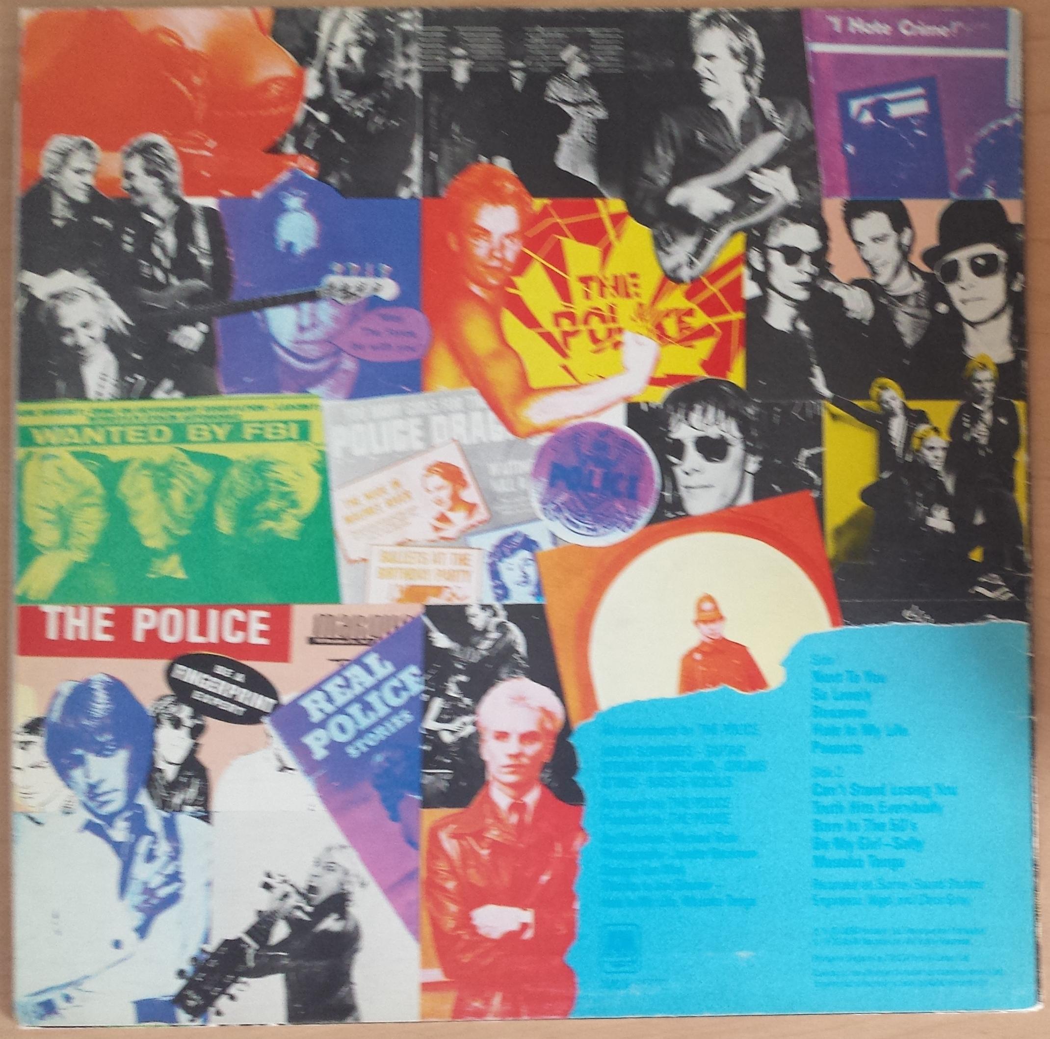 The Police Outlandos D Amour Rare Blue Vinyl Amlh