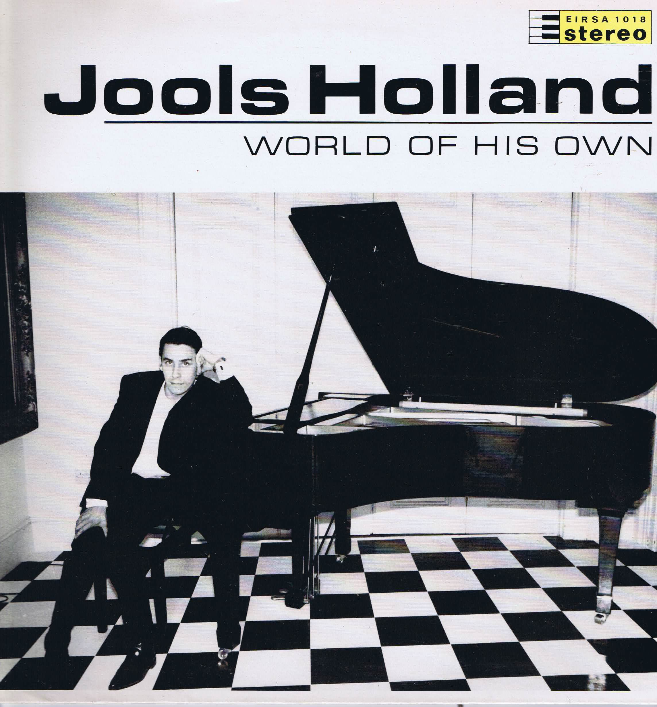 Jools Holland World Of His Own Eirsa 1018 Lp Record