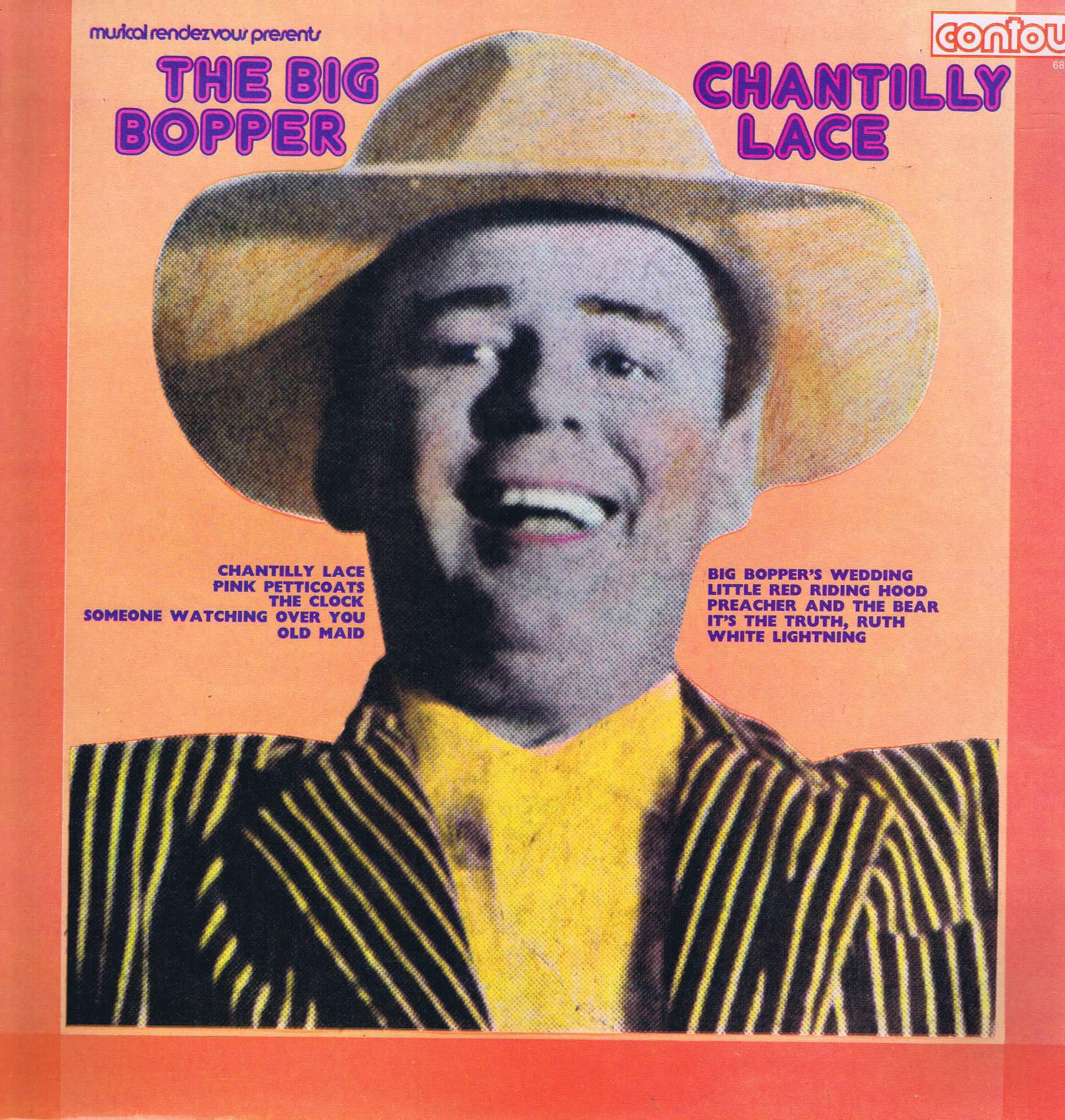The Big Bopper Chantilly Lace Contour 6870531 Lp