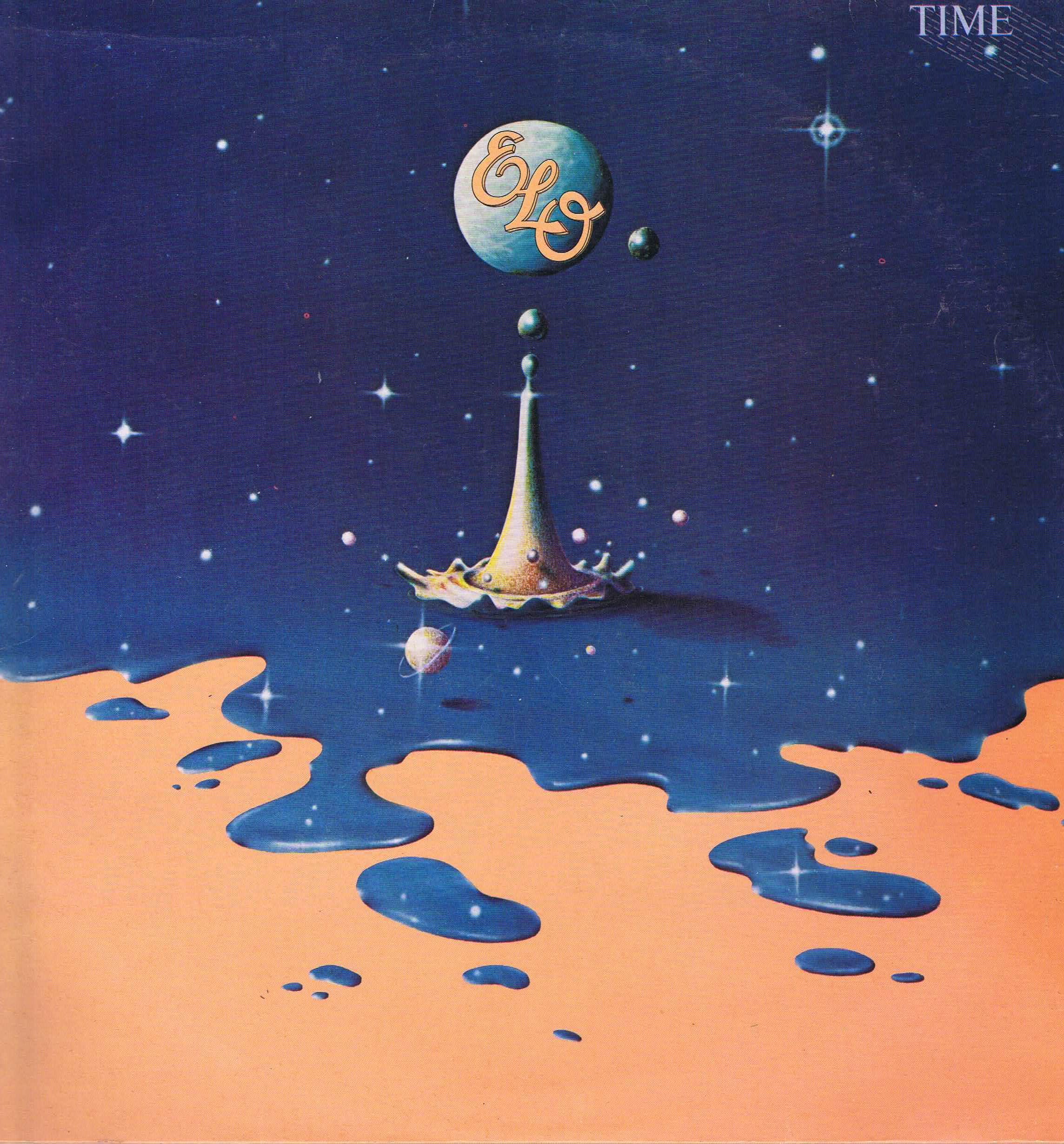 Electric Light Orchestra Elo Time Jet Lp 236 Vinyl