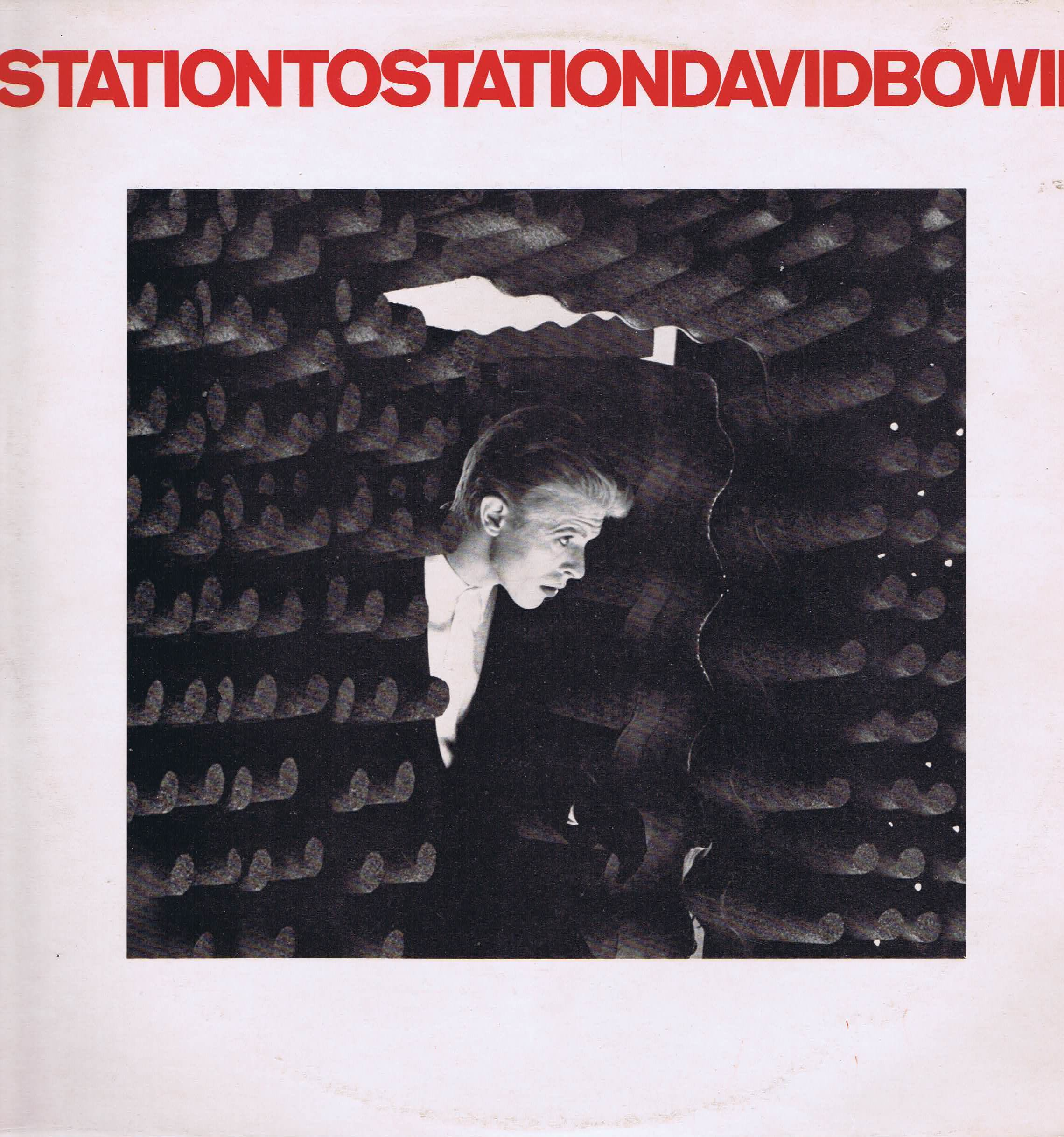 David Bowie – Station To Station - RCA APLI-1327 - A-1E/B-1E with 1976 purchase receipt