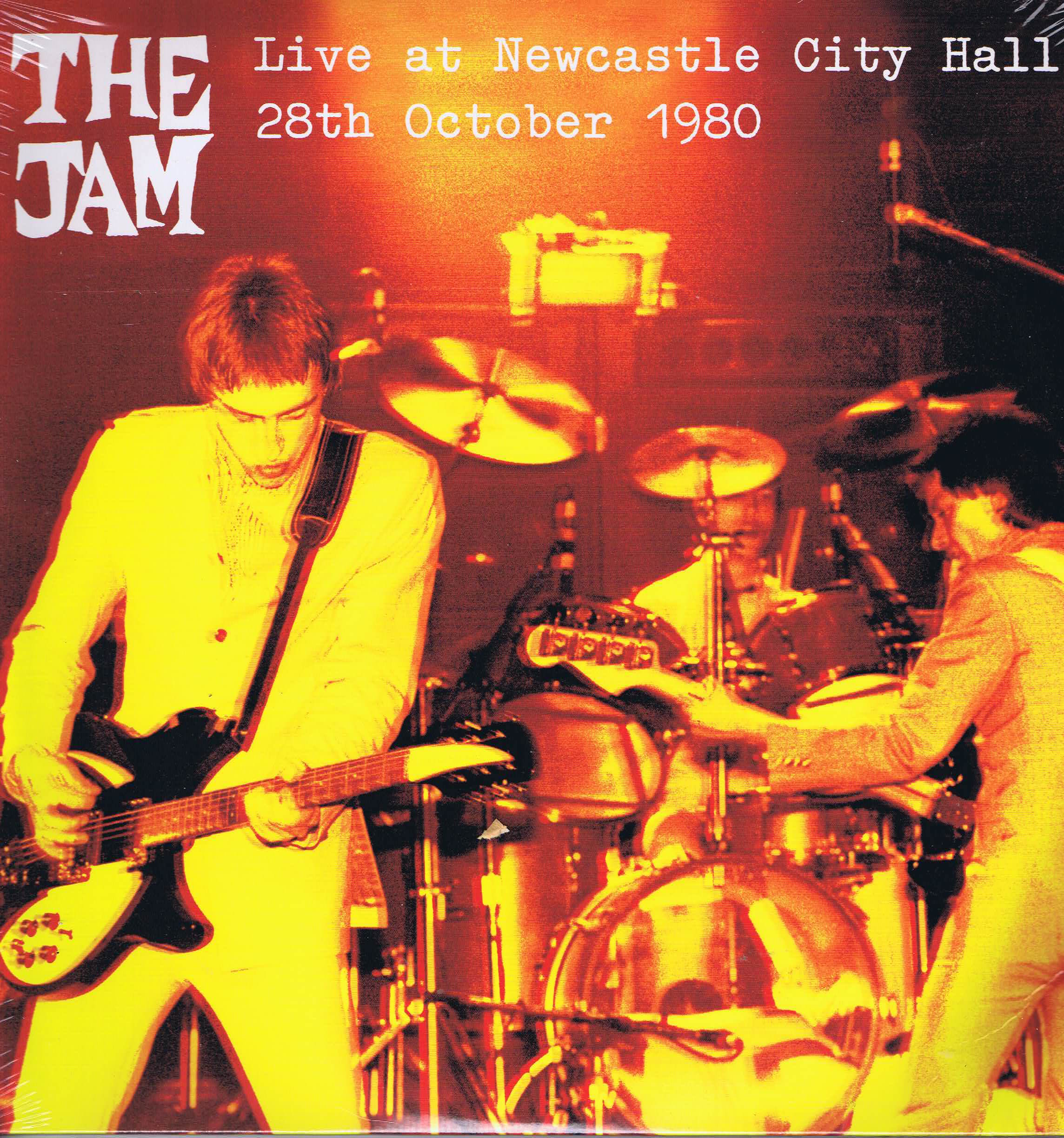 The Jam Live At Newcastle City Hall Limited Edition 2