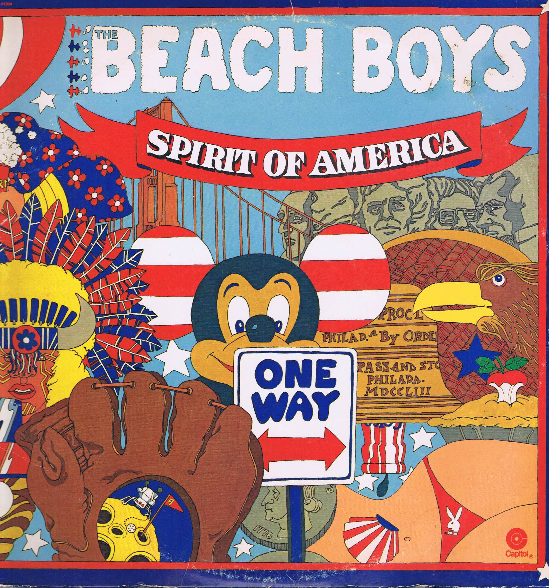The Beach Boys Spirit Of America 2 Lp Vinyl Record
