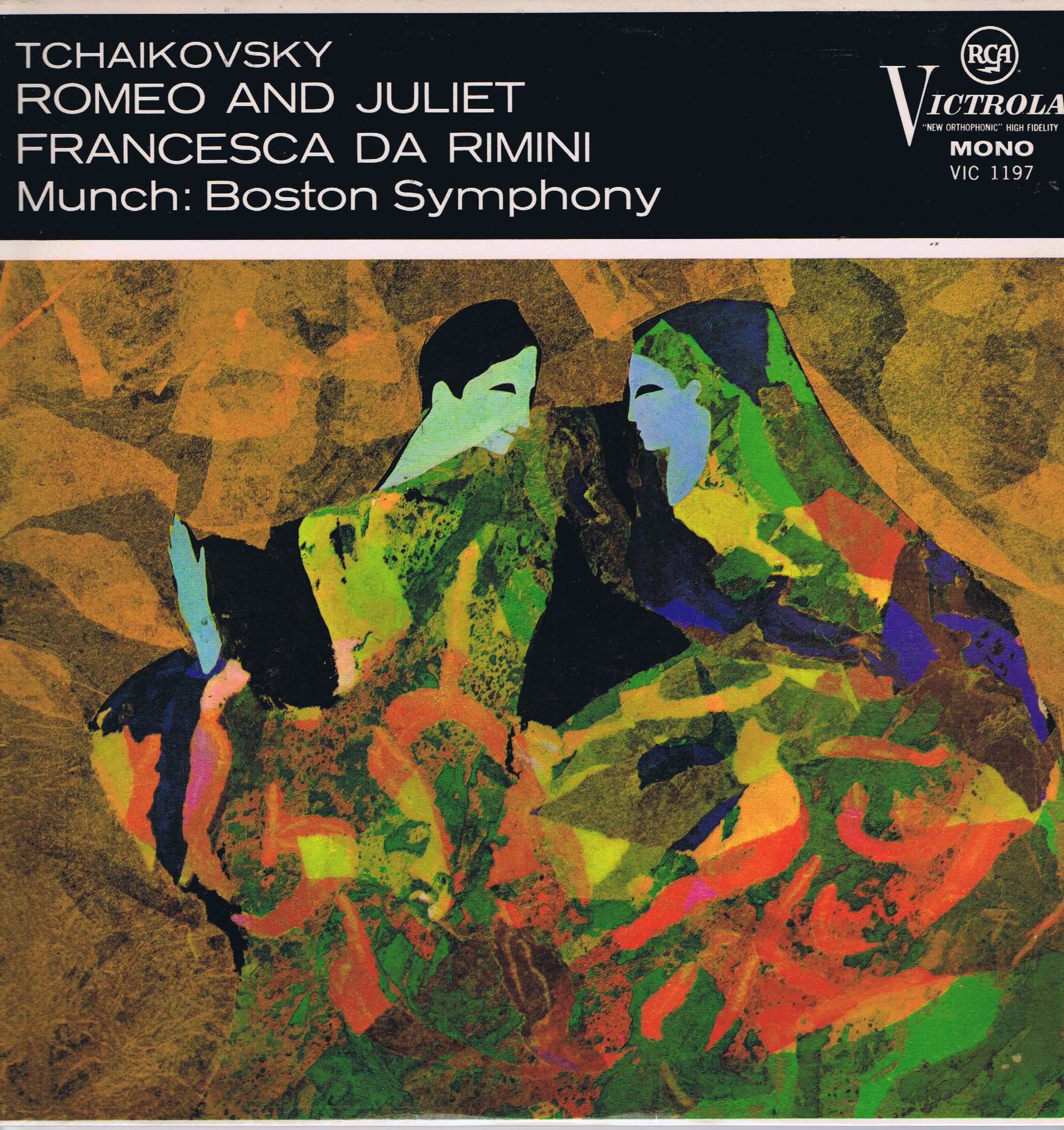 Victrola Vic 1197 Tchaikovsky Romeo And Juliet Munch