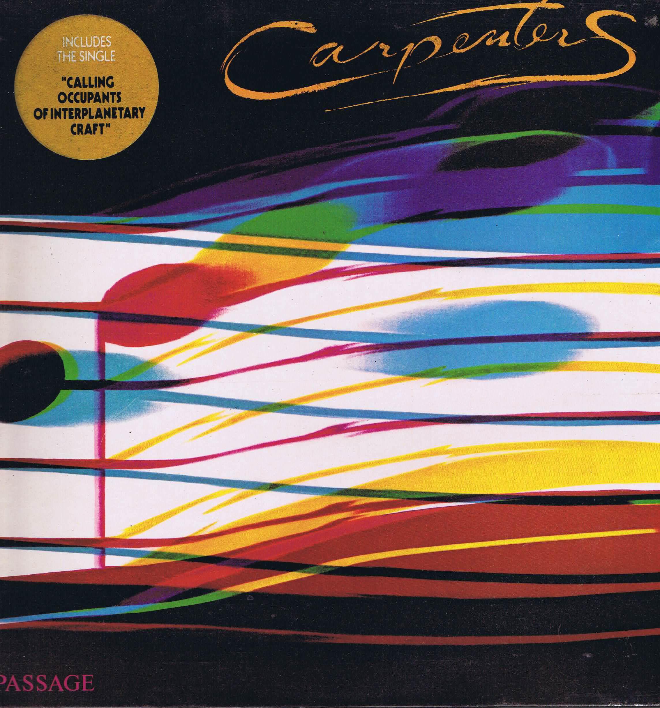 Carpenters Passage Amls 68403 Lp Vinyl Record Wax
