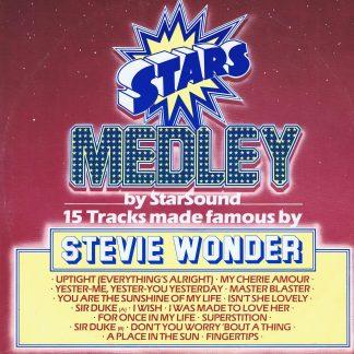 Star Sound – Stars On Stevie - CBS A 13 2041 - 12-inch Vinyl Record