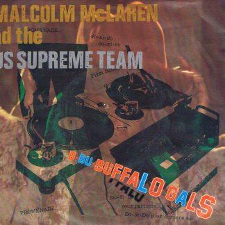 Malcolm McLaren – Buffalo Gals - MALC 1 - 7-inch Vinyl Record