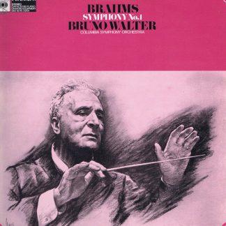 CBS 61217 - Beethoven - Beethoven: Symphony No. 1 - Walter - LP Vinyl Record
