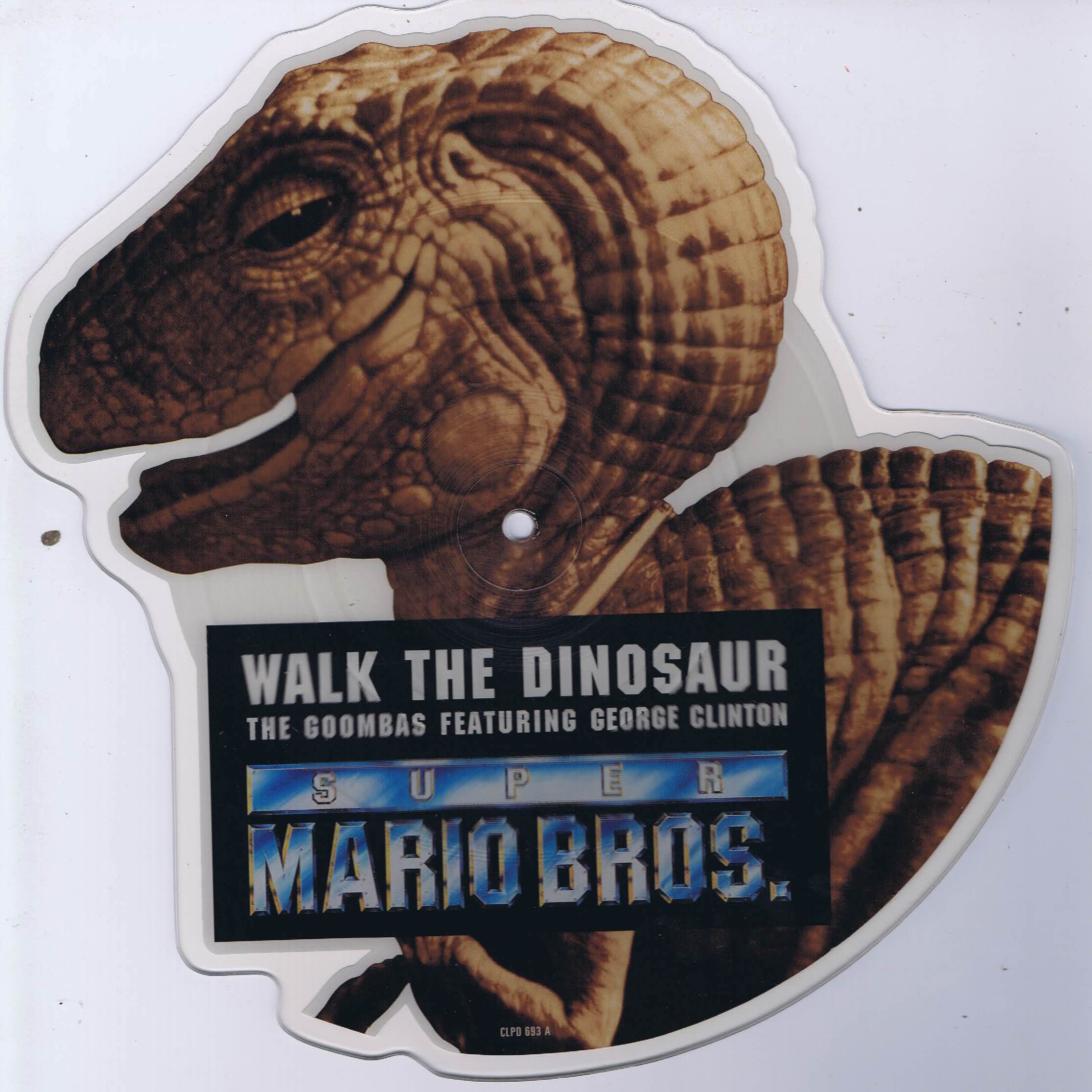 The Goombas Walk The Dinosaur 7 Inch Shaped Picture