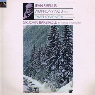 ASD 2648 - Sibelius: Symphony No. 4 & 6 - Halle / Barbirolli - LP Vinyl Record