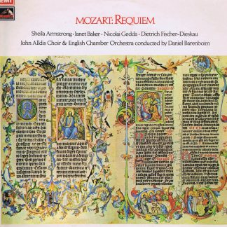 ASD 2788 - Mozart: Requiem - Barenboim - LP Vinyl Record
