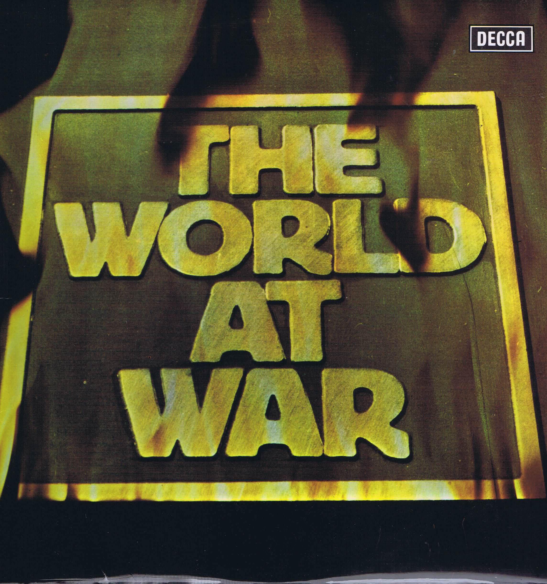 The World At War Colin Davis Vera Lynn Decca Spa 325