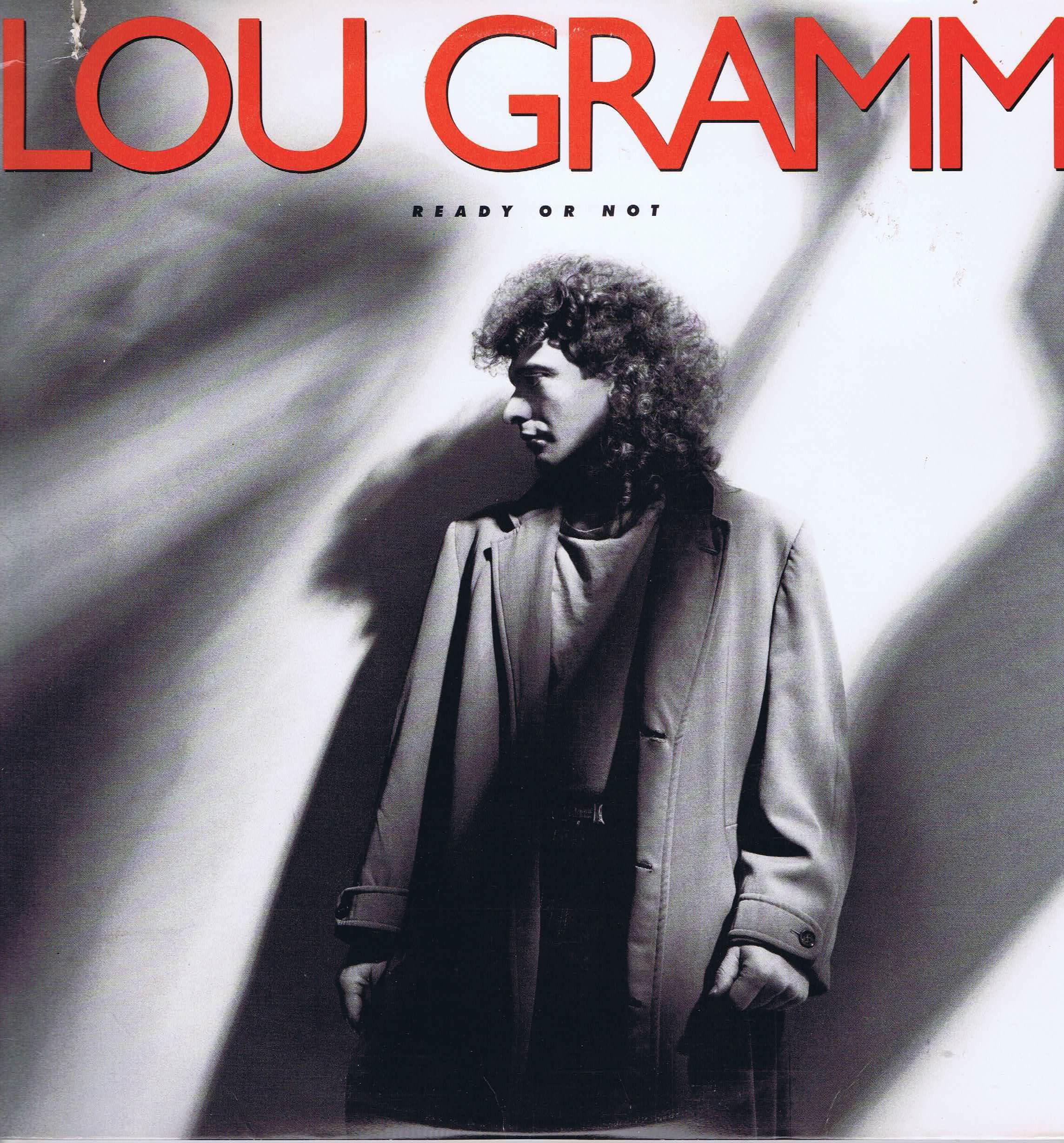 Lou Gramm – Ready Or Not - Atlantic 81728-1 - LP Vinyl Record