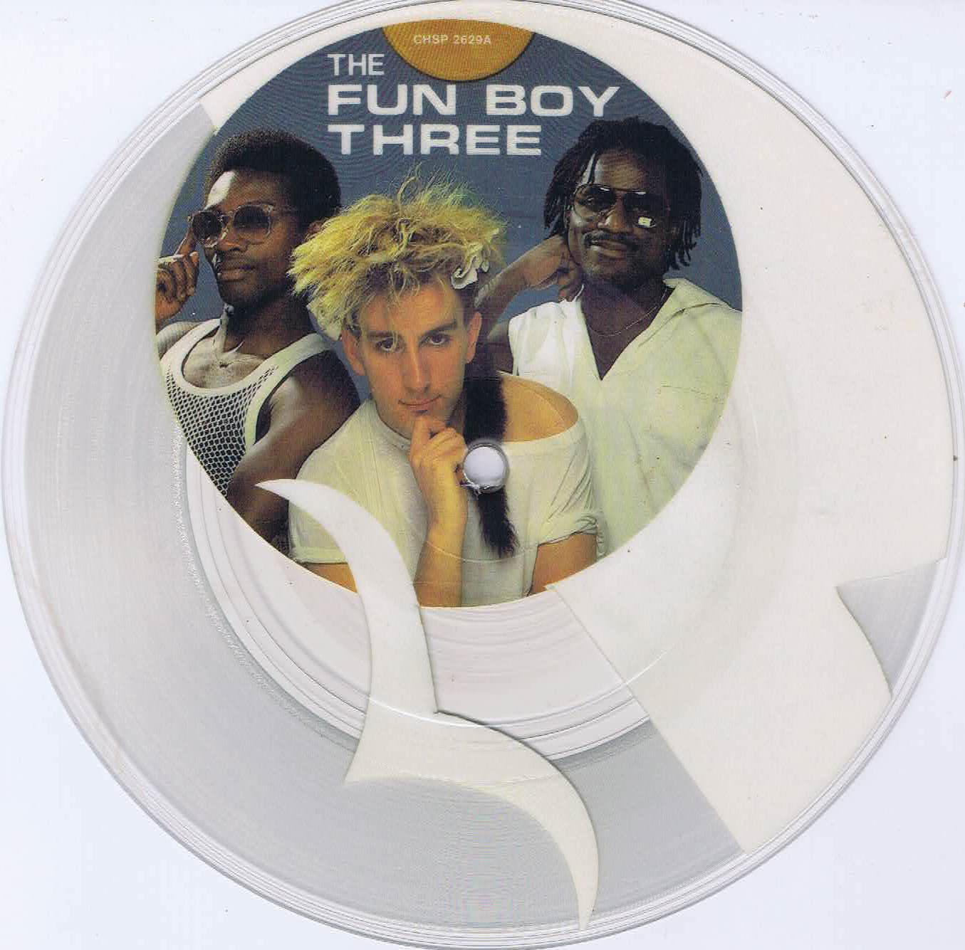 The Fun Boy Three Summertime 7 Inch Picture Disc