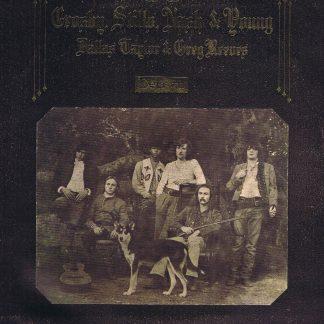 Crosby, Stills, Nash & Young – Déjà Vu - Atlantic 2401001 - LP Vinyl Record